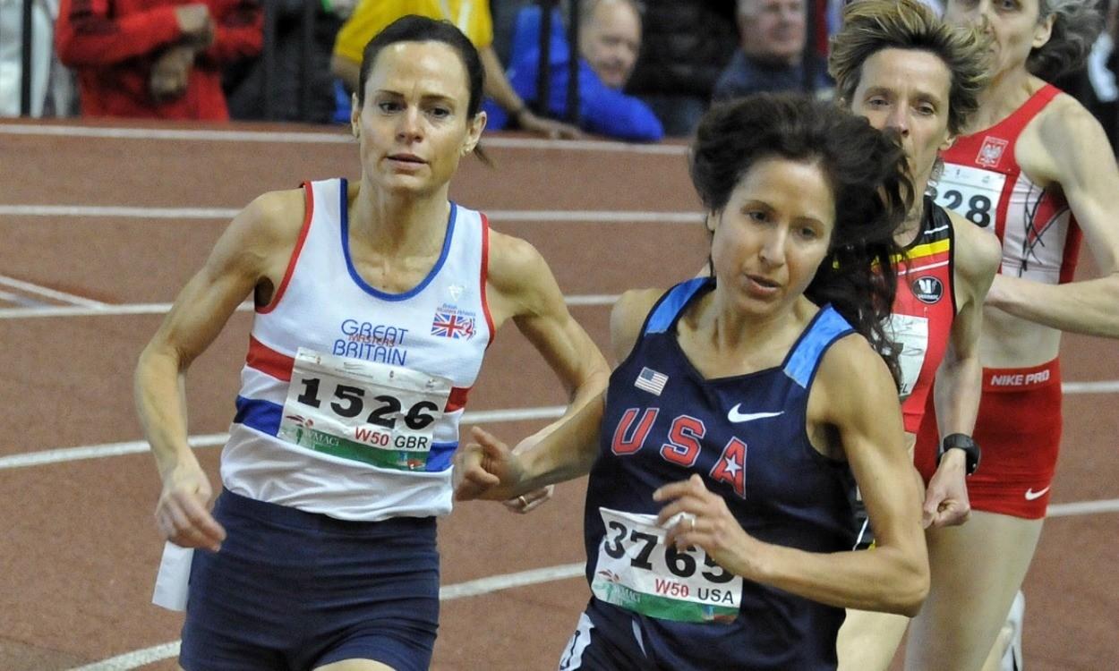 Clare Elms 800m Budapest 2014 (Credit: Tom Phillips)