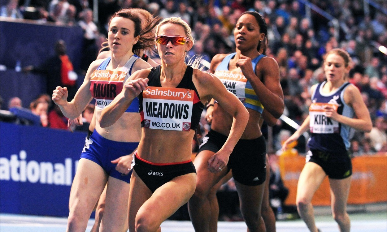 Jenny Meadows – Tips on indoor 800m running
