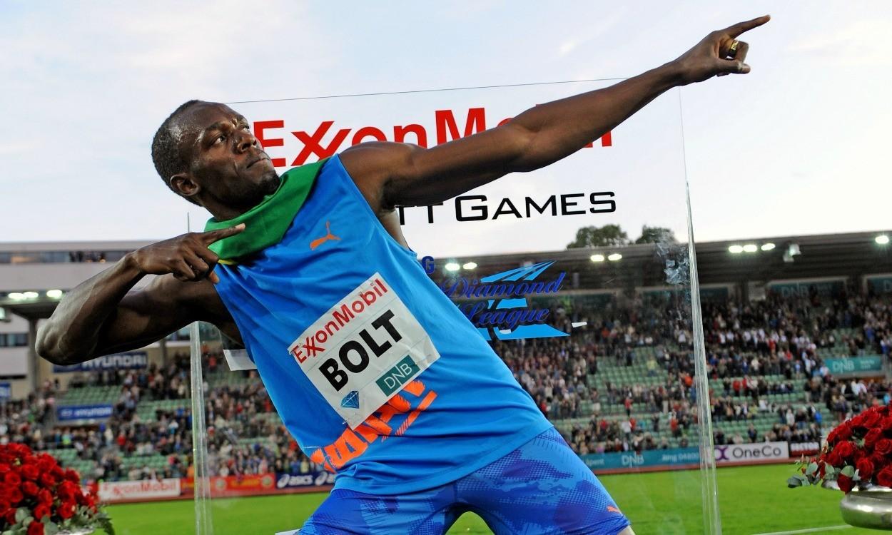 Usain Bolt Oslo 2012 (Credit: Mark Shearman)