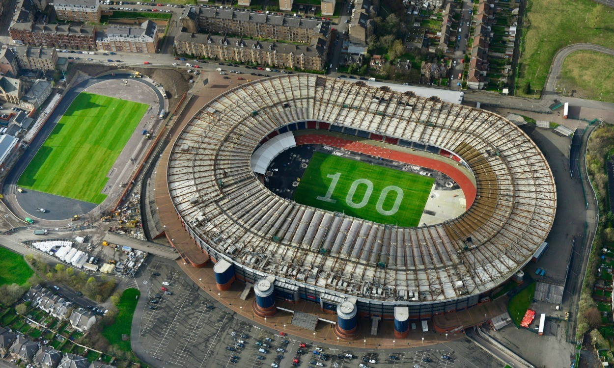 Glasgow 2014 marks 100 days to go milestone at Hampden