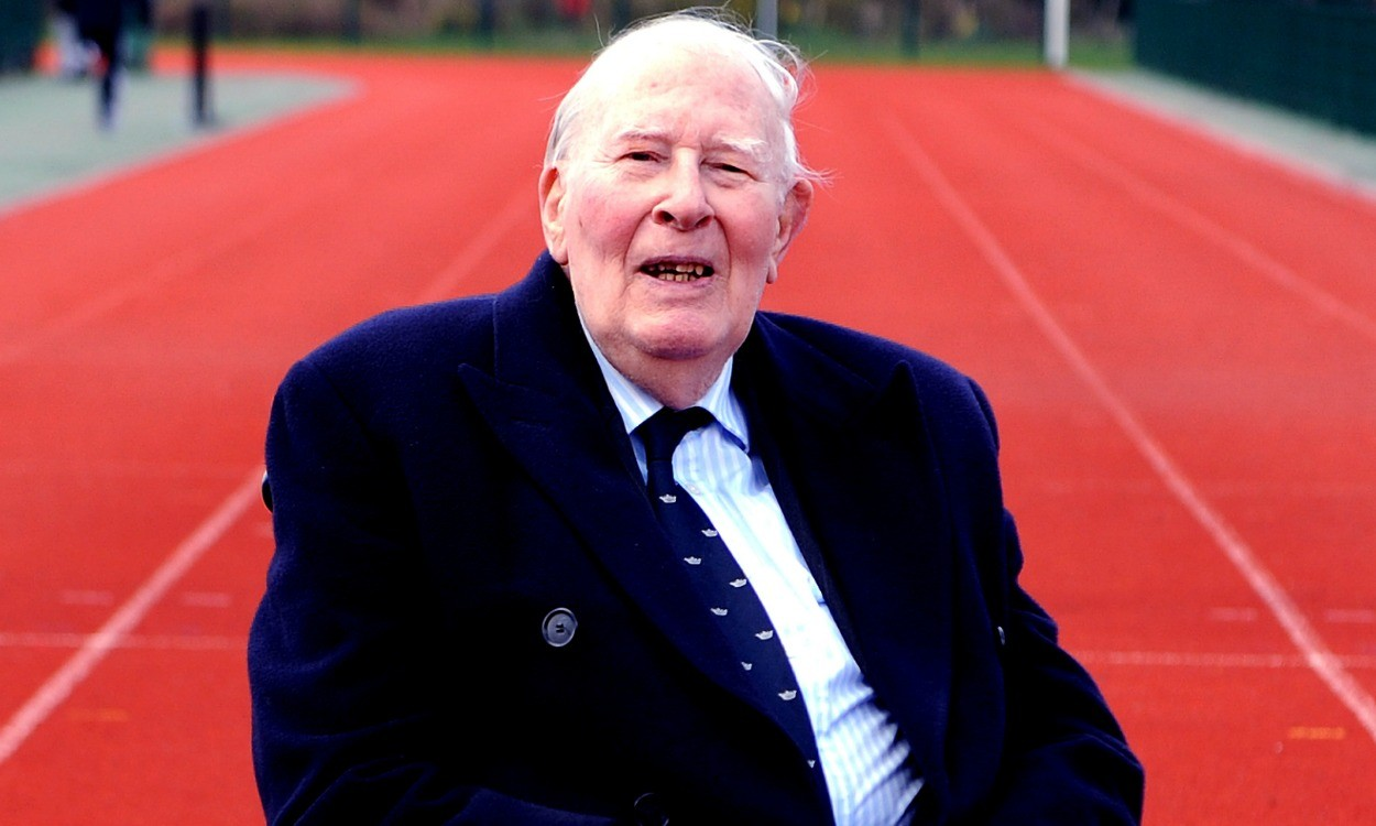 From the AW archive: Roger Bannister's first sub-four-minute mile