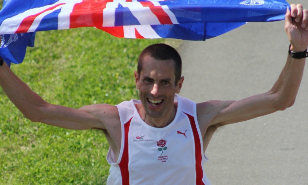 Steve Way and Jo Zakrzewski on GB IAU World 100km Champs team