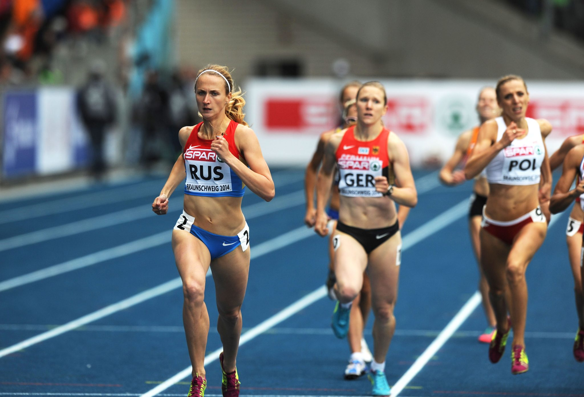 Relay joy for Britain as Russia and Germany battle for glory in Braunschweig