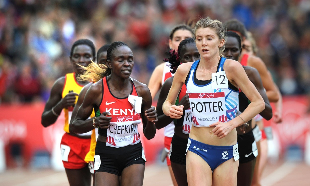 Kenyan clean sweep in Glasgow 10,000m