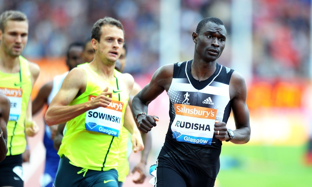 World leads for Rudisha and Ayalew in Glasgow