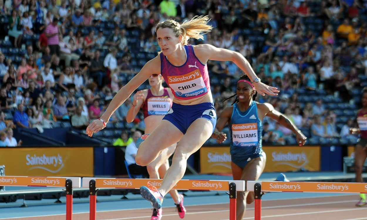 McCorory, Ashmeade and Child impress in Sainsbury's Glasgow Grand Prix