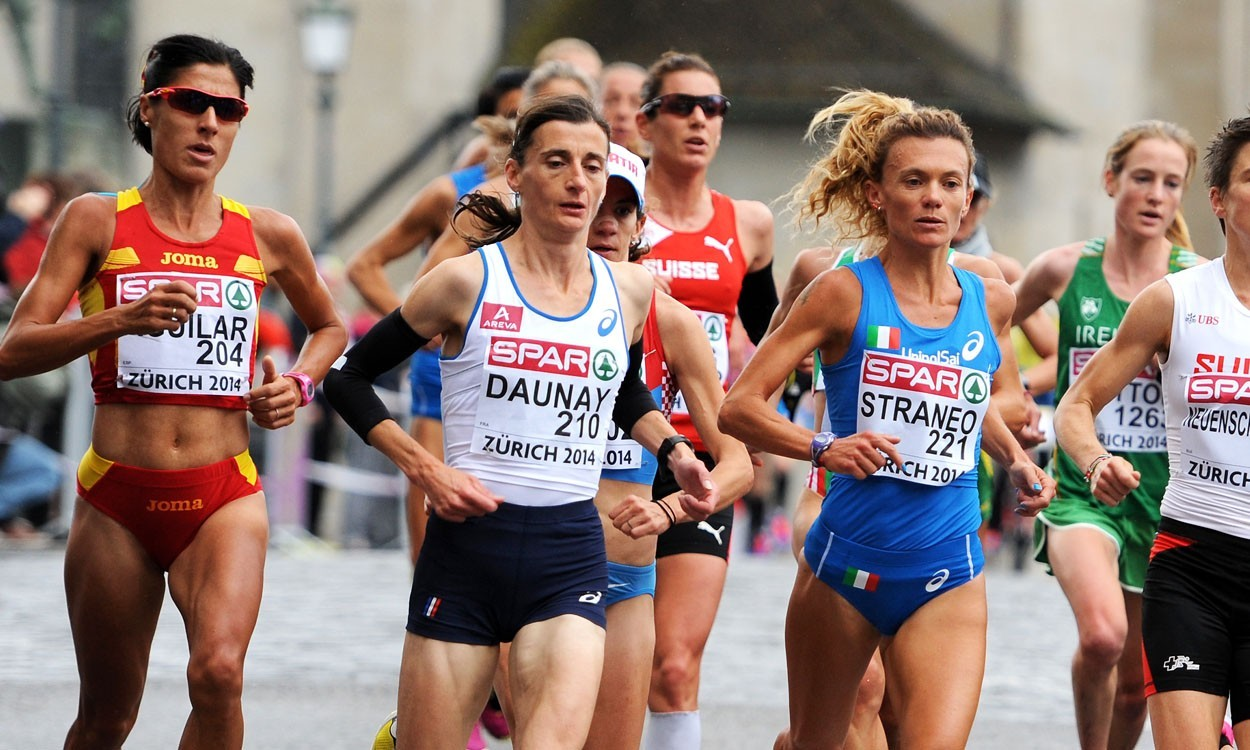 Euro marathon gold for Christelle Daunay