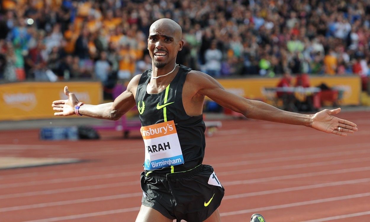 Mo Farah to compete at Birmingham Indoor Grand Prix