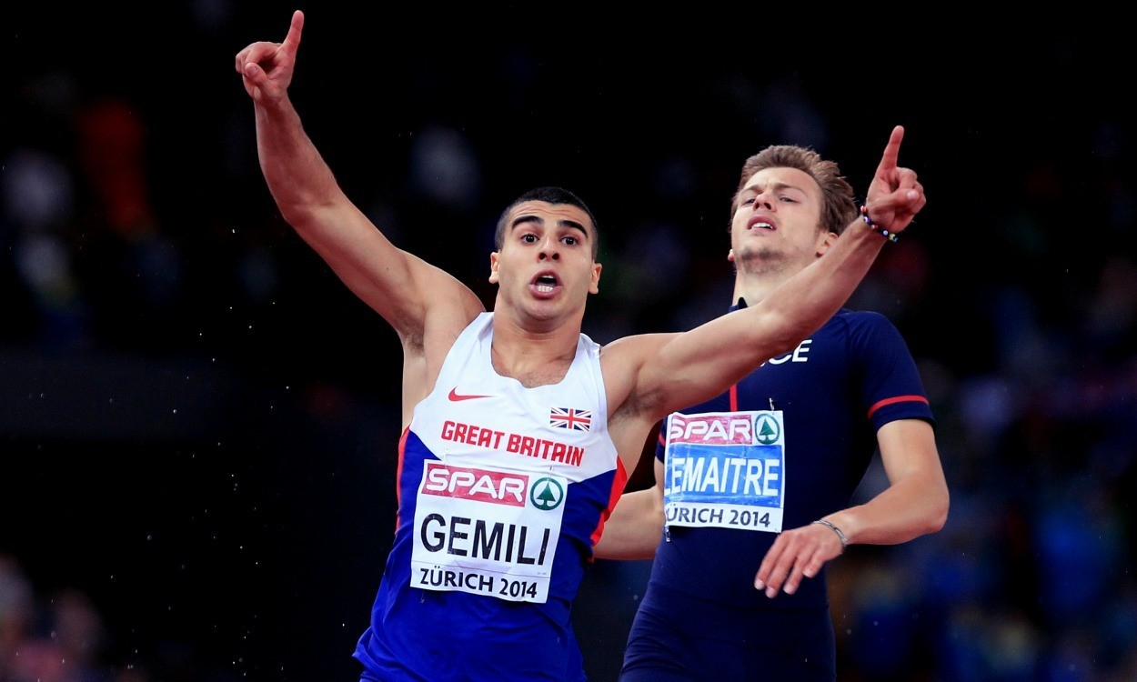 Dasaolu v Gemili v Bolt in Weltklasse Zurich 100m