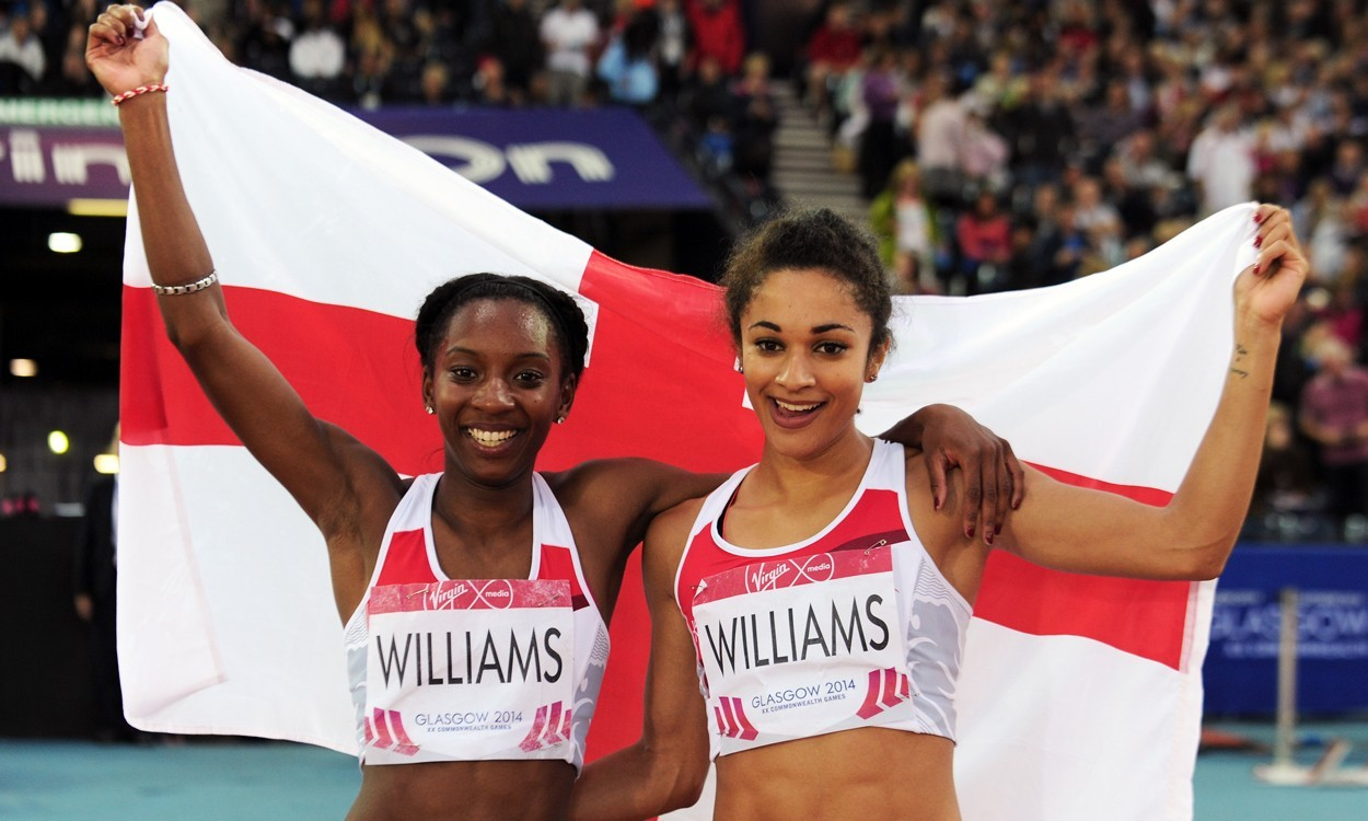 All in the name of speed for Jodie and Bianca Williams