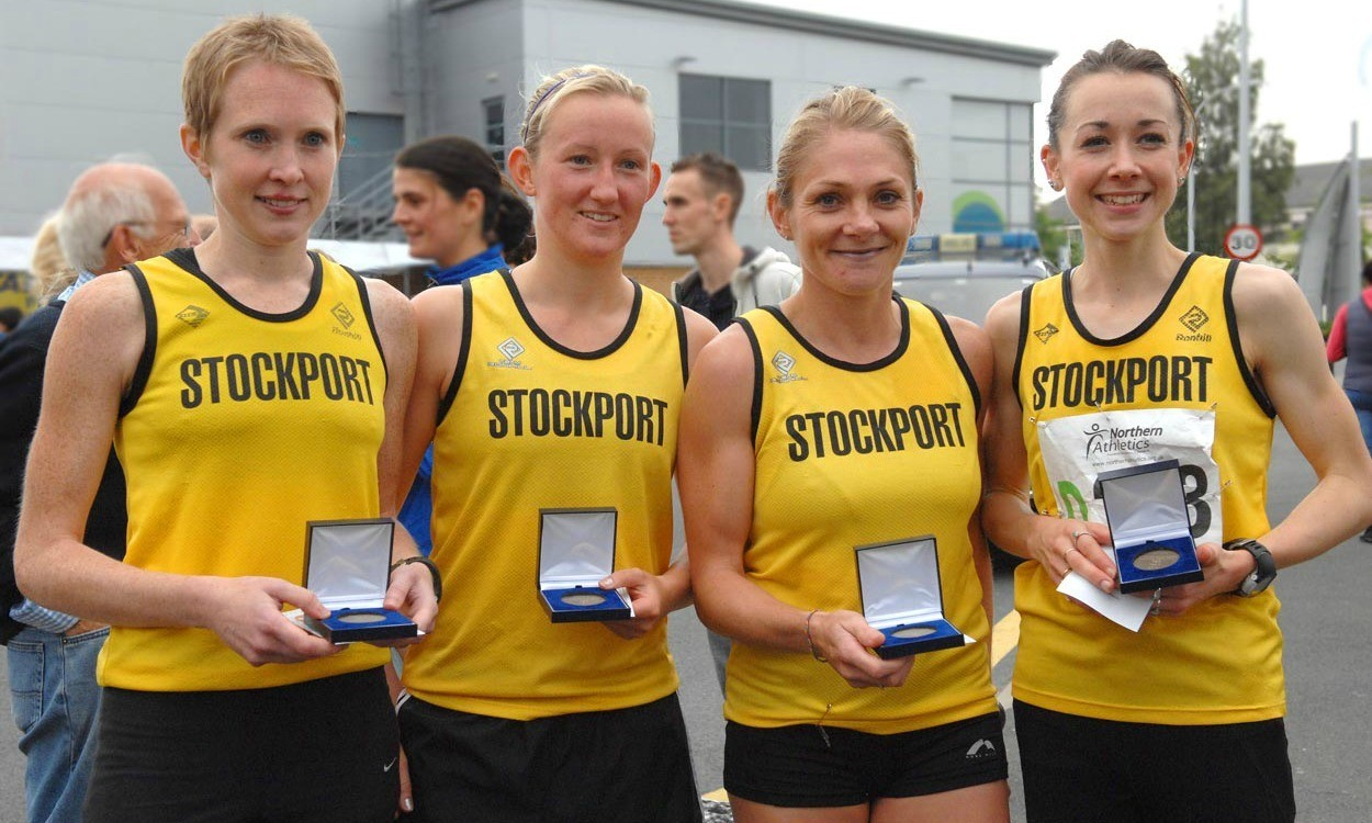 Stockport, Bristol & West and AFD do double at area road relays