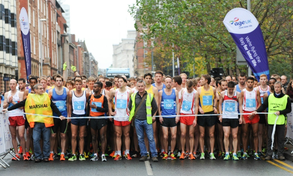 Fast times and funds raised at Abbey Dash