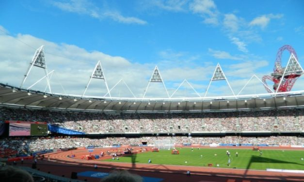 Athletes help mark 1000 days to London 2017