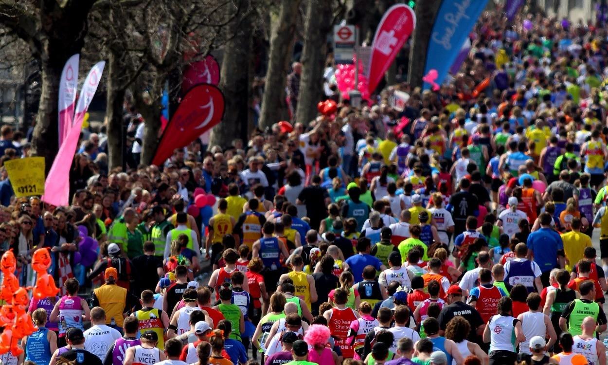Pace decline in marathon starts at 35, says study