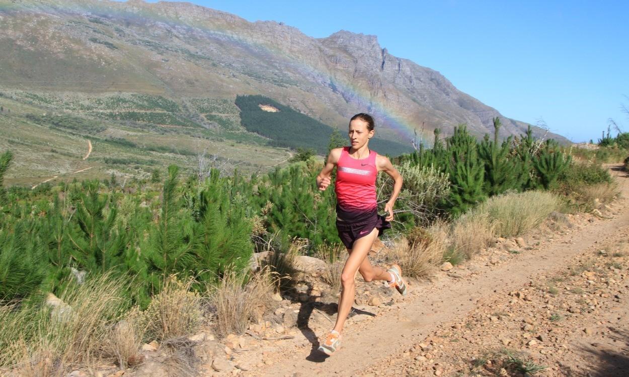Julia Bleasdale, running free