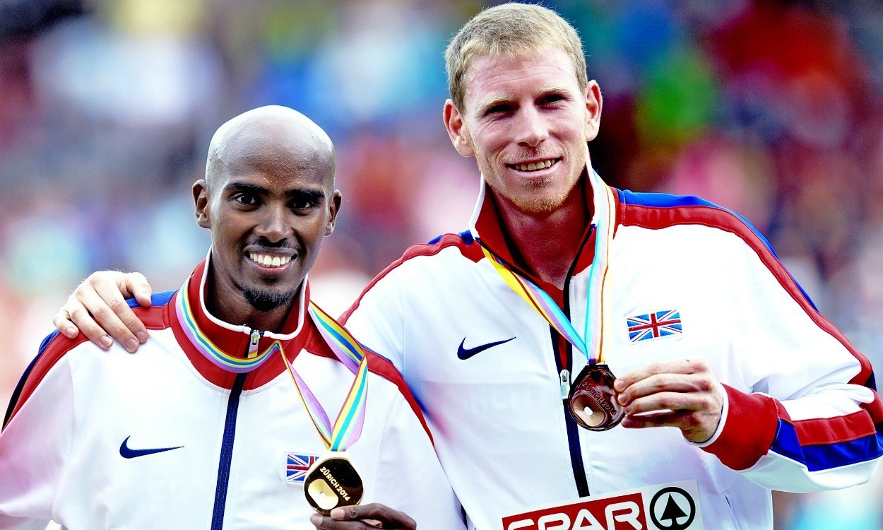 Mo Farah and Andy Vernon speak out after Twitter spat
