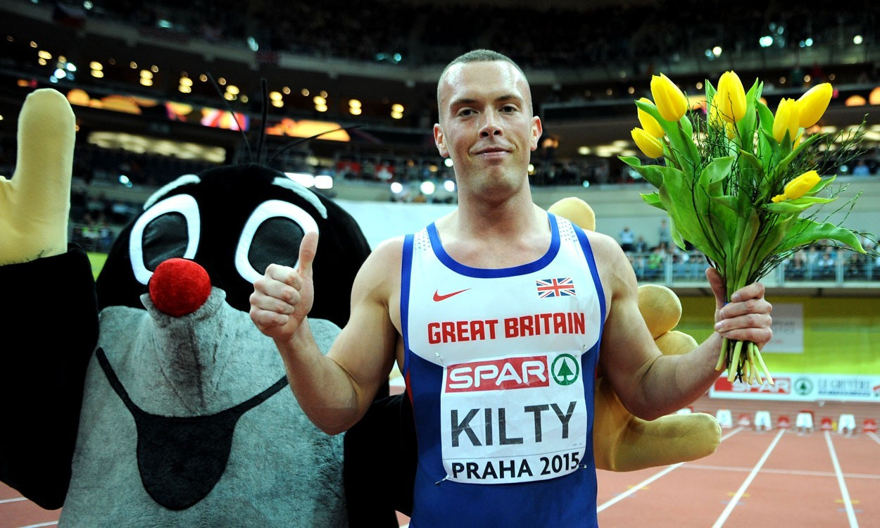 Richard Kilty and Dina Asher-Smith shine in sprints in Prague