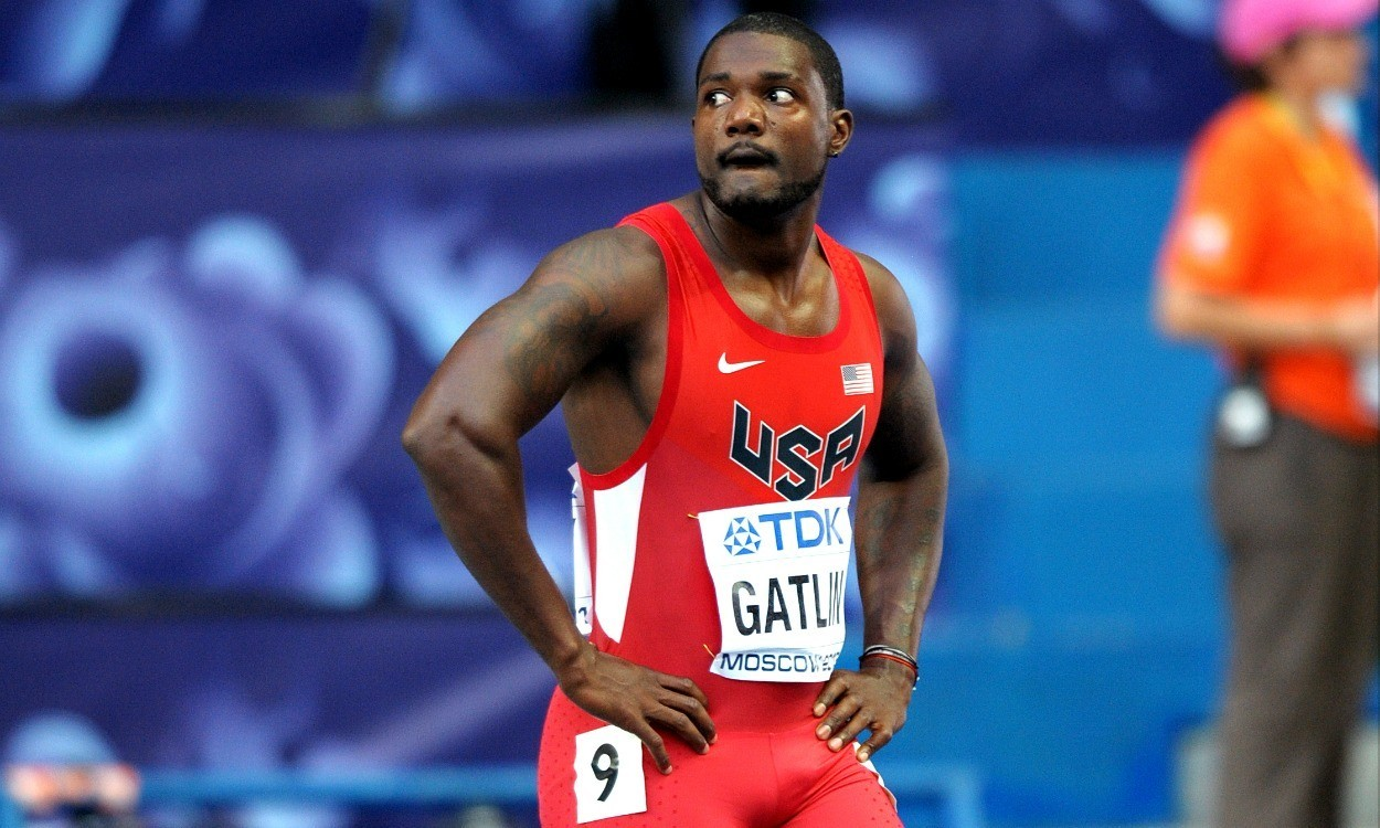 Justin Gatlin inspired by Kim Collins to prolong career past Rio Olympics
