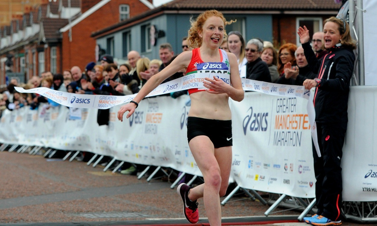 Georgie Bruinvels returns to race ASICS Greater Manchester Marathon