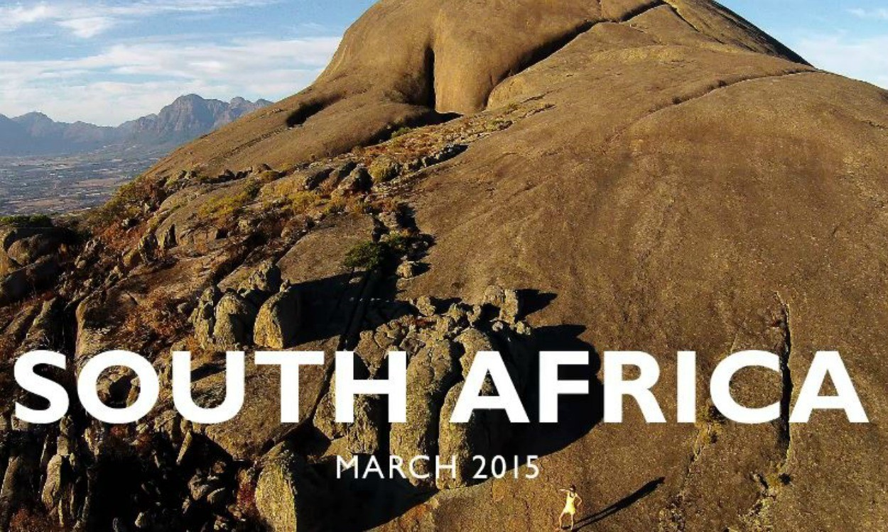 A Sunday run in South Africa