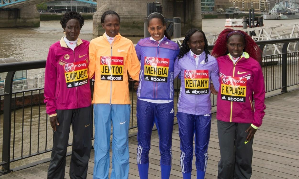 Kenya's 'fantastic four' ready to run London