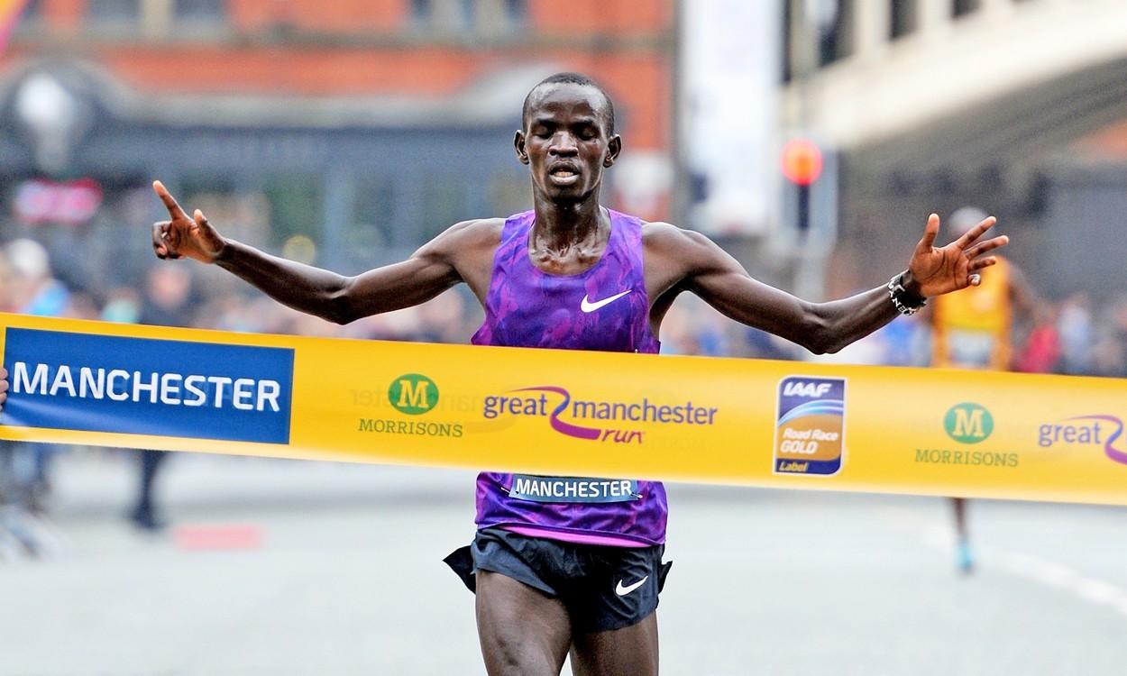 Stephen Sambu and Betsy Saina win Great Manchester Run