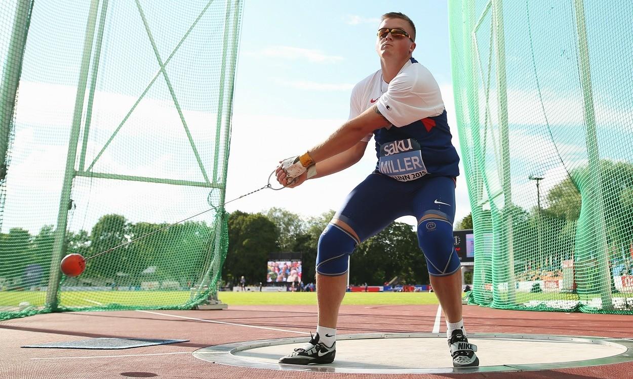 Nick Miller wins European under-23 hammer title in Tallinn
