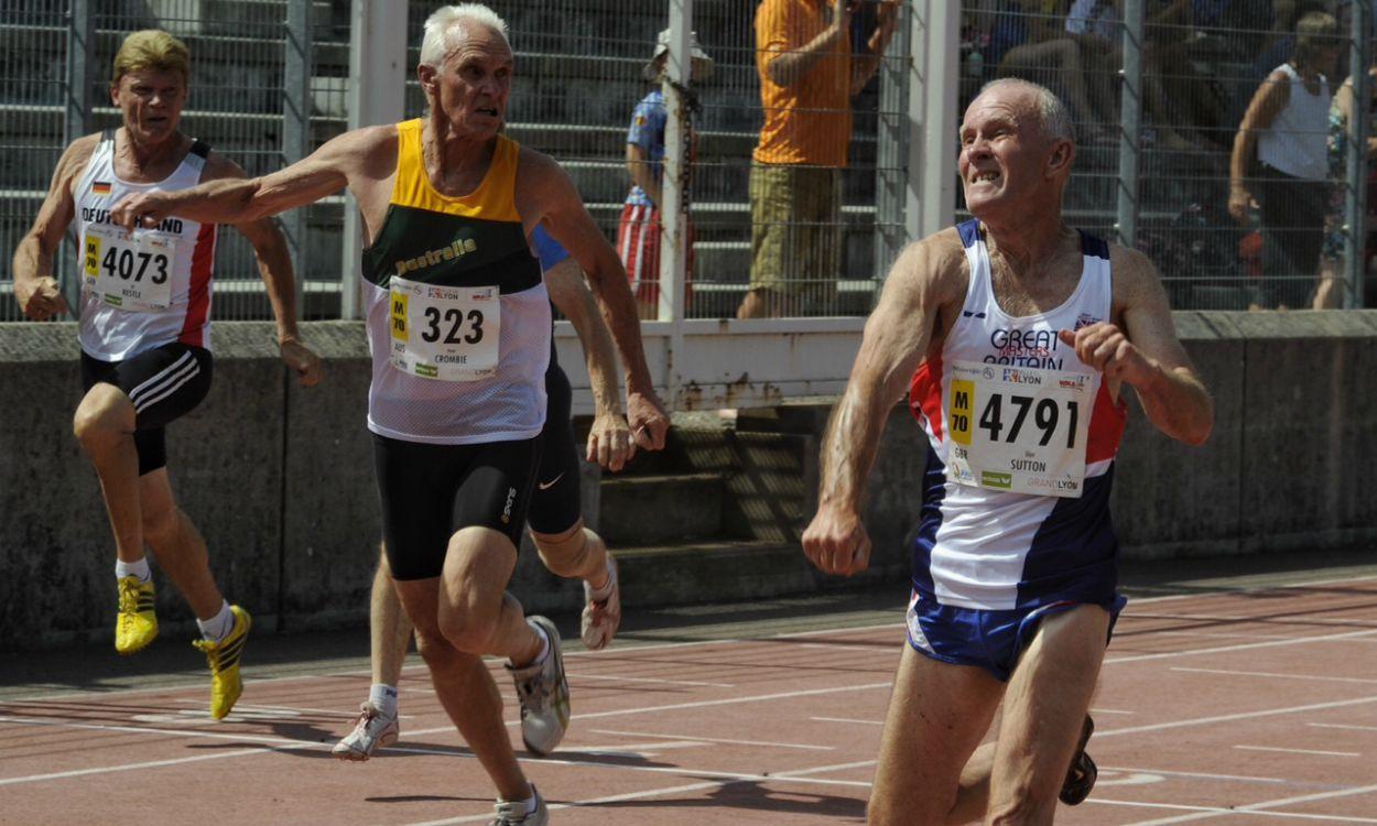 Glyn Sutton among world record-breakers in Lyon