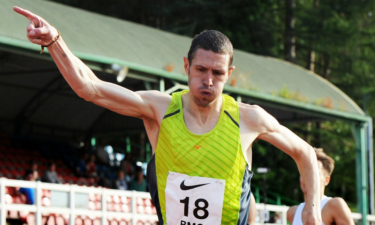 Anthony Whiteman on being fast after 40