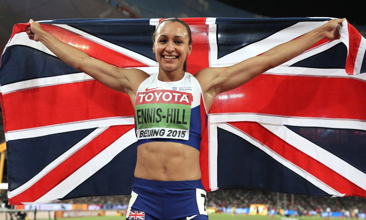 Jessica Ennis-Hill and Mo Farah are BAWA athletes of the year