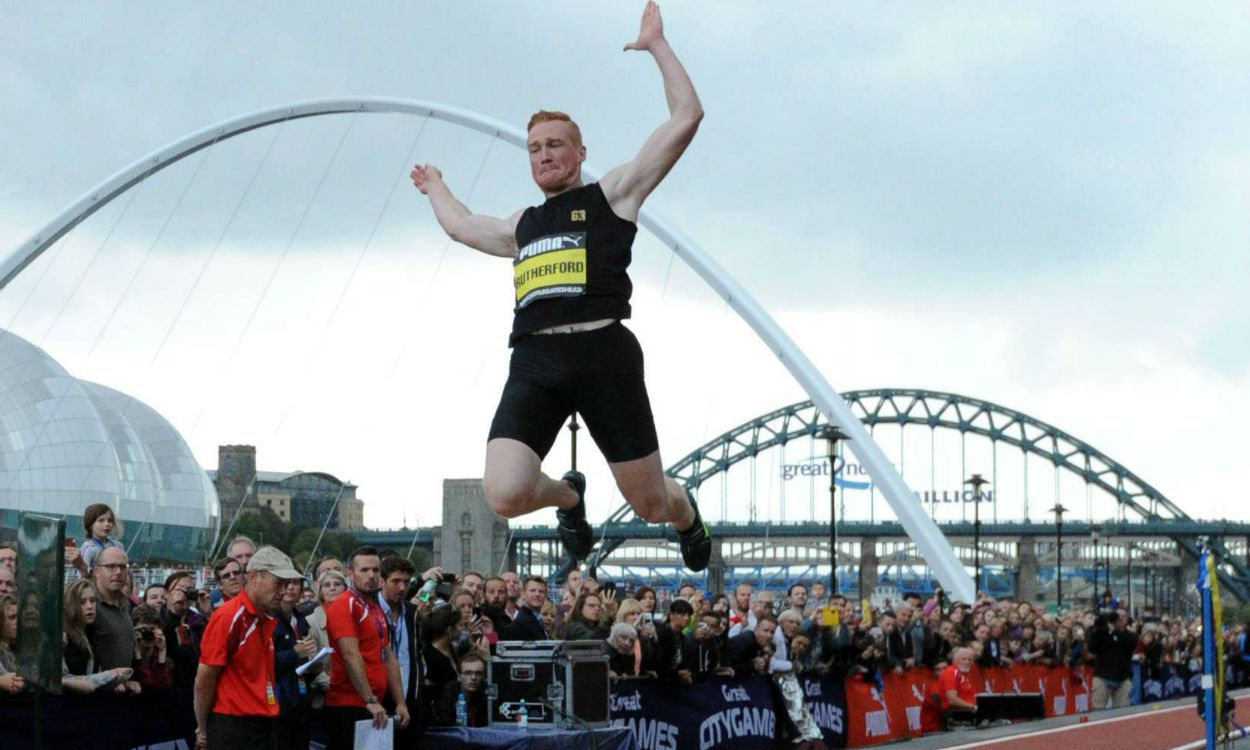 Greg Rutherford in CityGames farewell