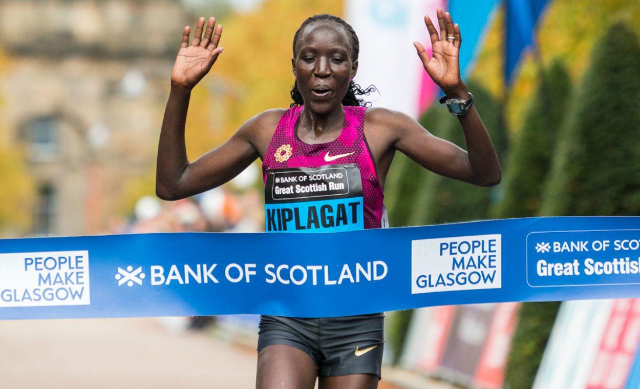 Edna Kiplagat among athletes set for Great Scottish Run