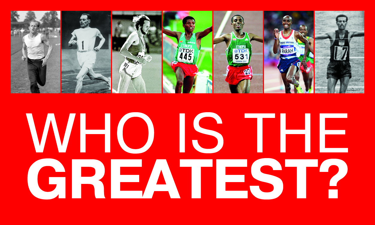 Who is the greatest ever distance runner?