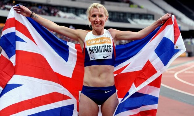 Double Paralympic champion Georgie Hermitage retires