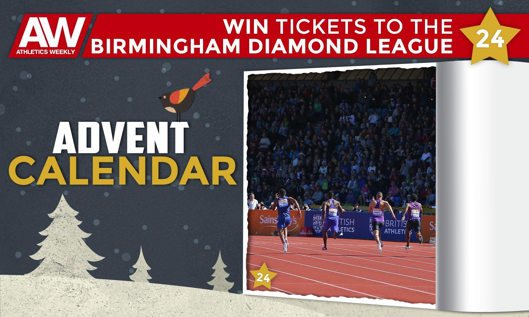 Win Birmingham Diamond League tickets
