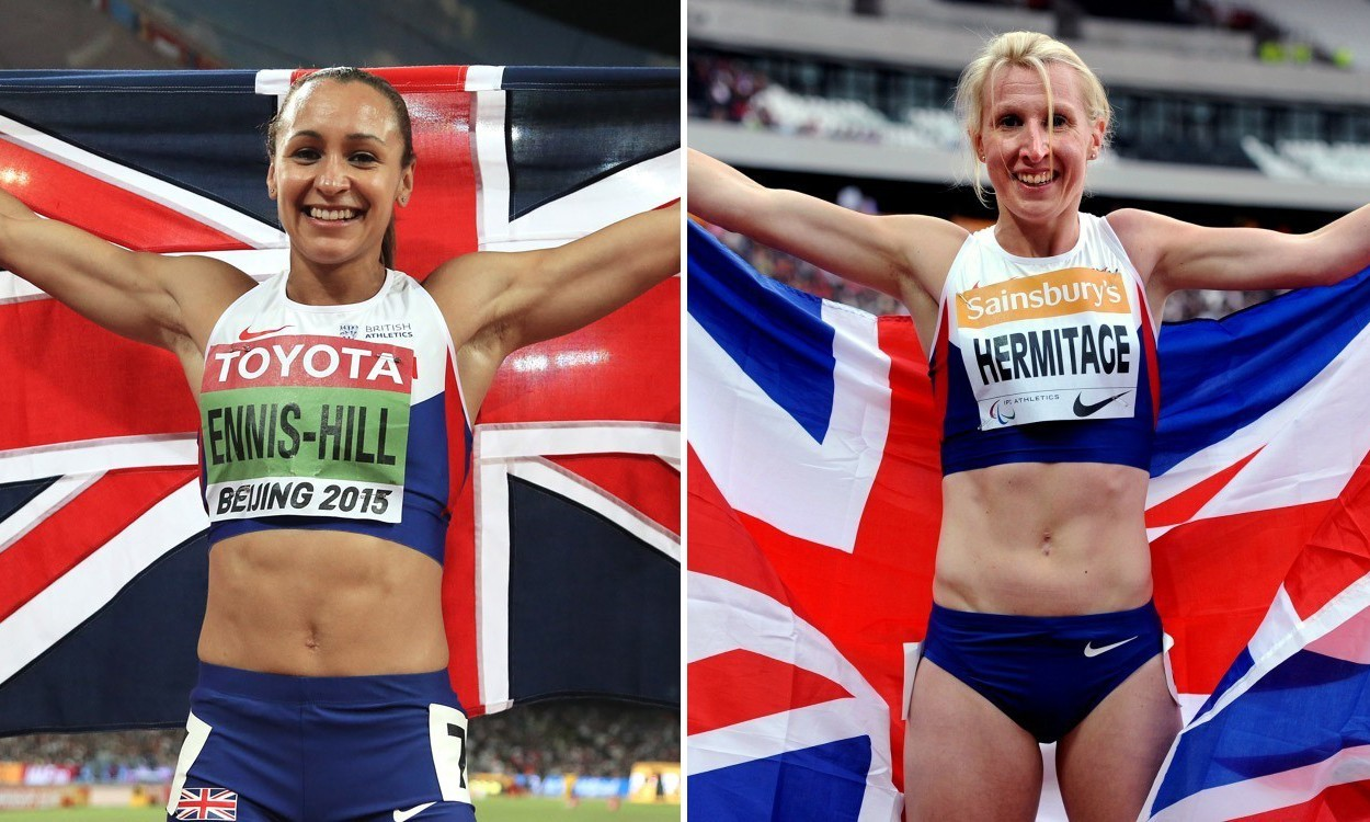 Ennis-Hill and Hermitage among BT Sport Action Woman of the Year contenders