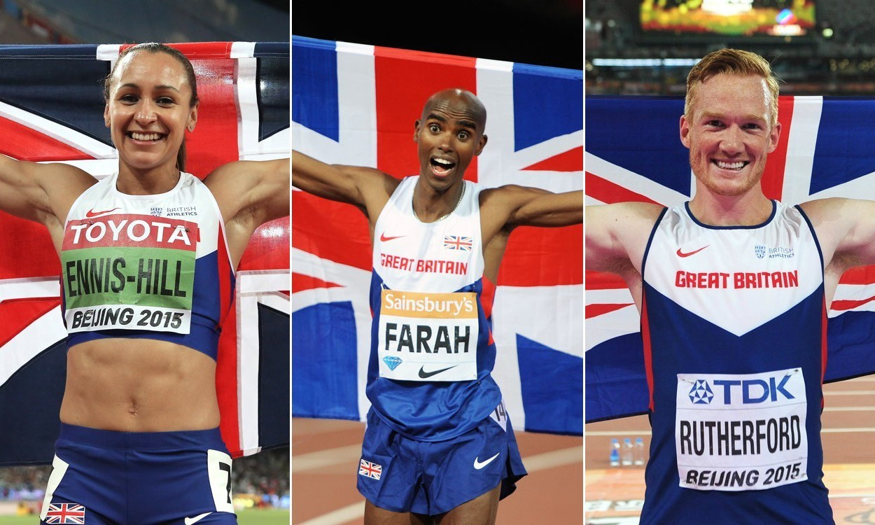 End of term report for British athletes