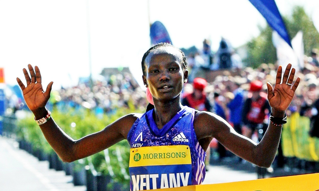 Mary Keitany and Stanley Biwott win New York City Marathon