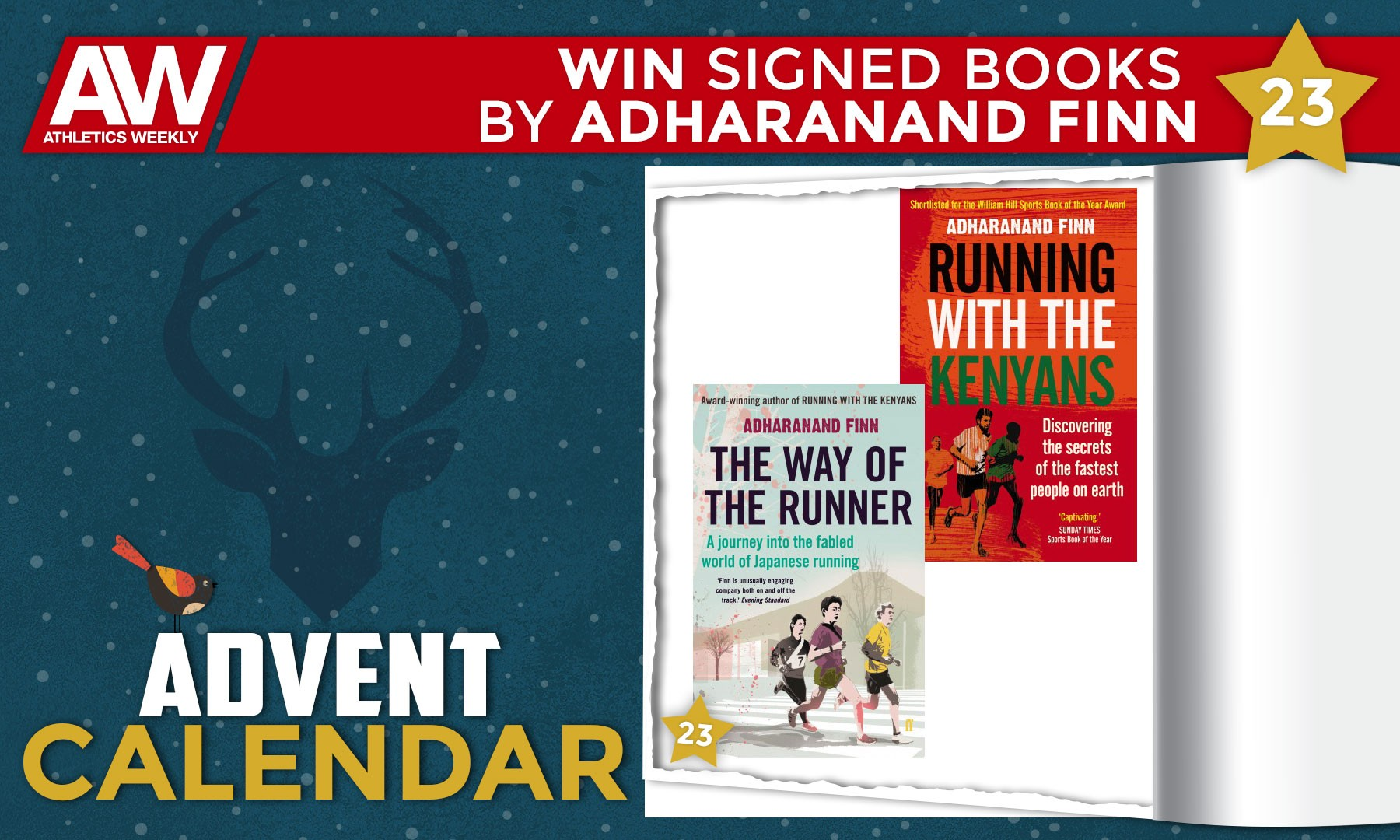 Win signed books by Adharanand Finn