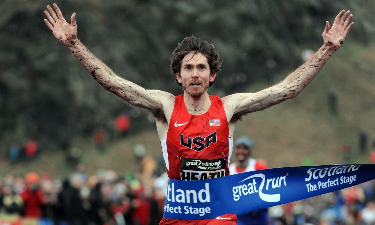 Garrett Heath leads USA team at Great Edinburgh XCountry
