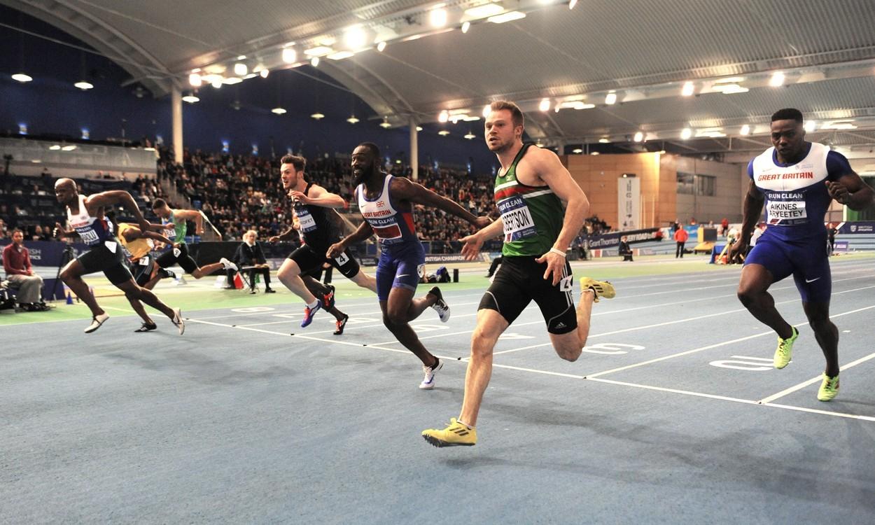 James Dasaolu wins British 60m gold
