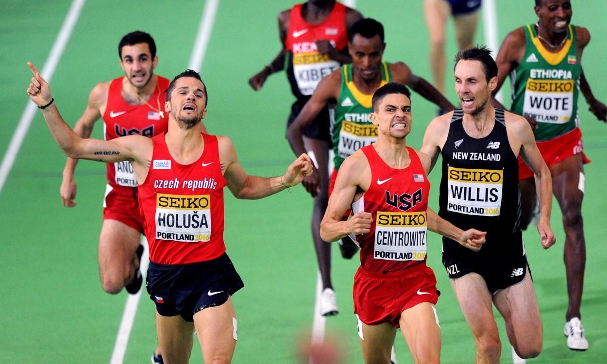 Host nation USA dominates World Indoor Championships