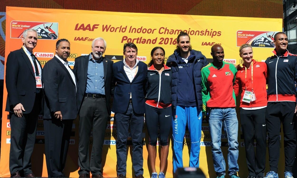 Seb Coe hails importance of IAAF World Indoor Championships in Portland