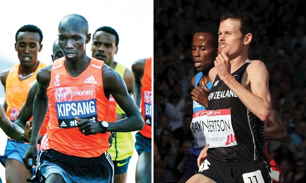 Wilson Kipsang and Zane Robertson to race Great Manchester Run