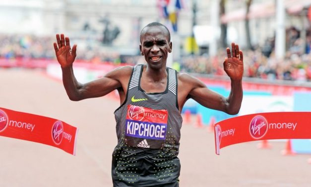 Eliud Kipchoge smashes Virgin Money London Marathon course record