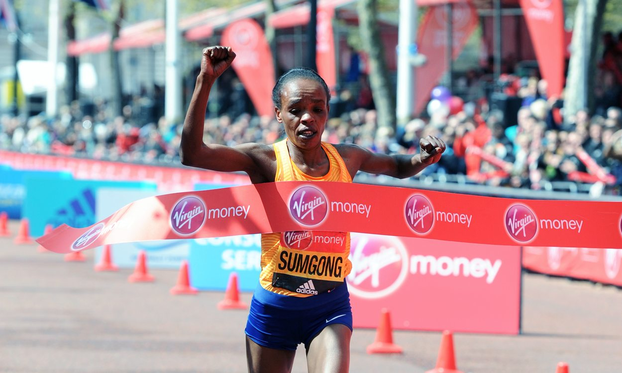 Jemima Sumgong to defend title as part of stellar London Marathon field