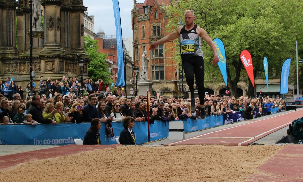 Ronald Hertog eyes further Paralympics success after long jump switch