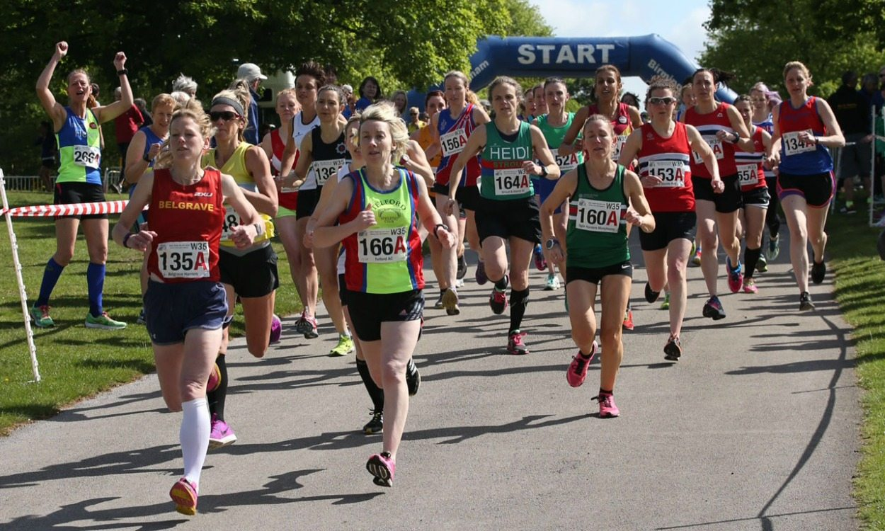 Titles shared at British Masters Road Relay Championships