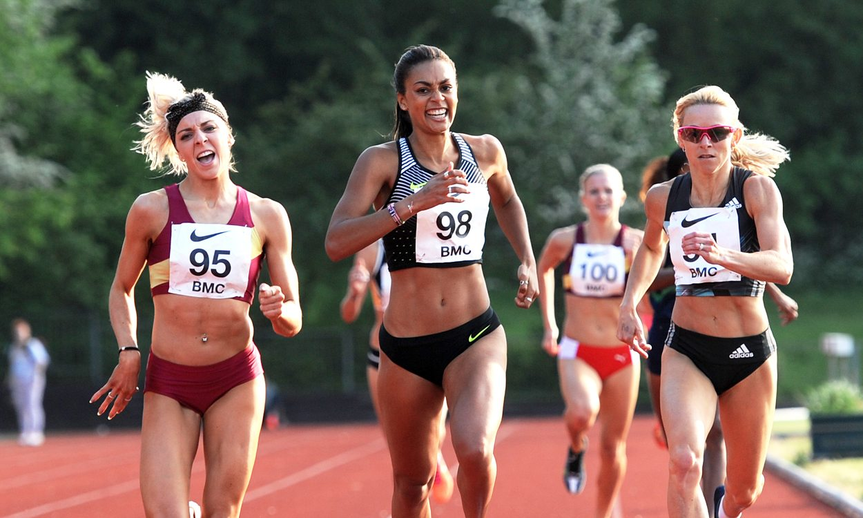 Adelle Tracey among fast times at Watford