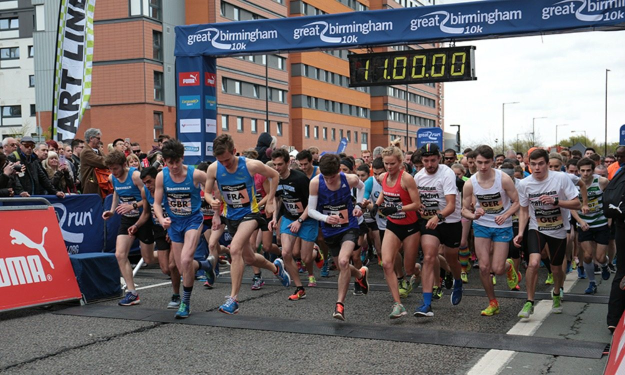 Emma Clayton and Jack Gray win Great Birmingham 10K
